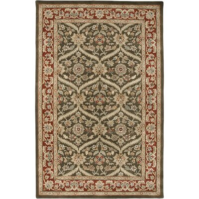 Blackwelder Cocoa Brown / Red Boniface Area Rug Rug Size: Rectangle 86 x 116
