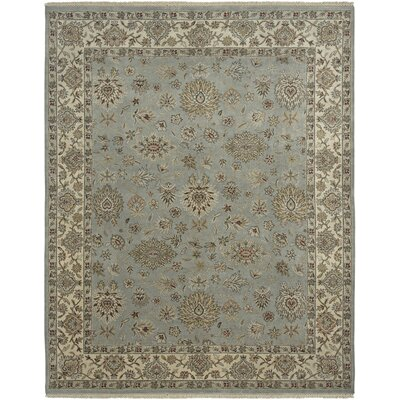 Victoire Moss/Ivory Area Rug Rug Size: Rectangle 9 x 12