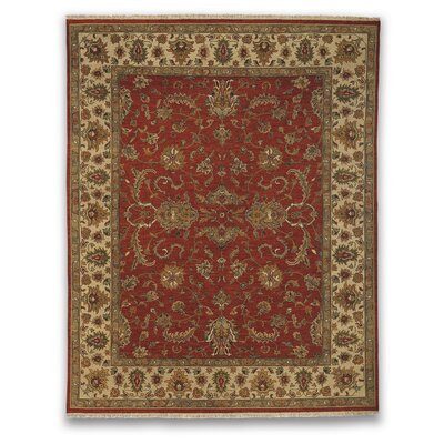 Soumak Eaton Red/Beige Area Rug Rug Size: 10 x 14