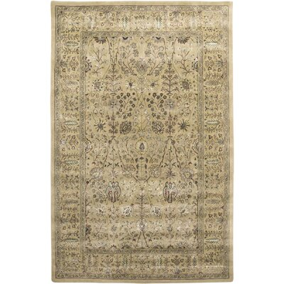 Cloverdales Gold/Yellow Area Rug Rug Size: Rectangle 76 x 96