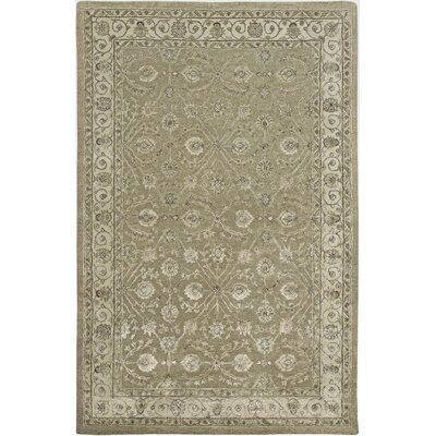 Cloverdales Brown/Beige Area Rug Rug Size: Rectangle 36 x 56