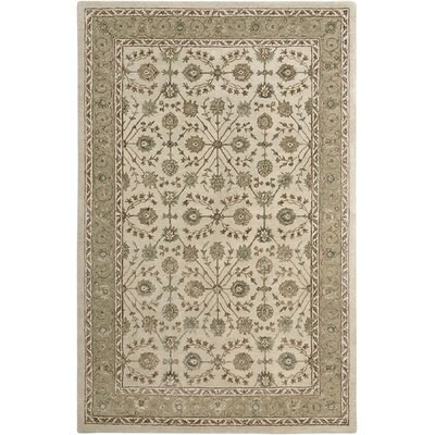 Cloverdales Beige/Brown Area Rug Rug Size: Rectangle 36 x 56