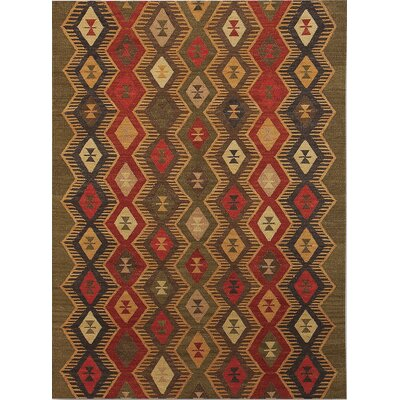 Galey Green Rug Rug Size: 8 x 10