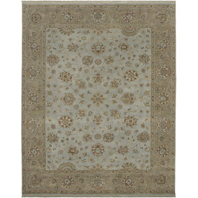 Victoire Mint/Mocha Area Rug Rug Size: Rectangle 6 x 9
