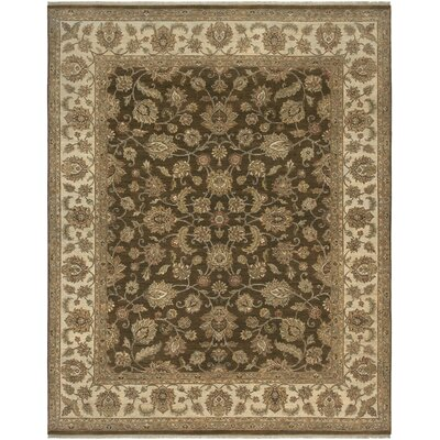 Antiquity Salona Brown/Beige Area Rug Rug Size: 10 x 14
