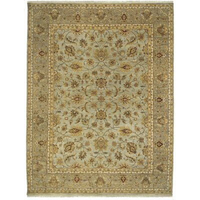 Antiquity Salona Gray/Beige Area Rug Rug Size: 2 x 3