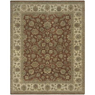 Antiquity Salona Red/Beige Area Rug Rug Size: 6' x 9'
