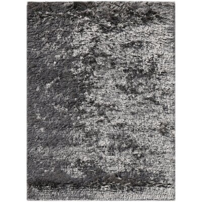 Elements Neon Dark Gray Area Rug Rug Size: 2 x 3