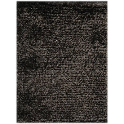 Elements Neon Ebony Area Rug Rug Size: 5 x 8