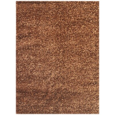 Elements Chocolate Stratus Area Rug Rug Size: 3 x 5