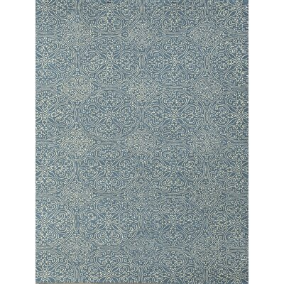 Ascent Gable Aqua Area Rug Rug Size: 76 x 96