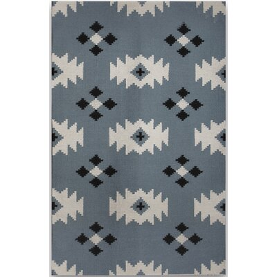 Shelburne Blue Area Rug Rug Size: 3 x 5