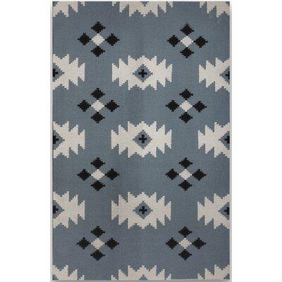 Zara Blue Area Rug Rug Size: 2 x 3