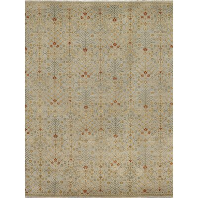 Earnshaw Ice Blue Area Rug Rug Size: 6 x 9