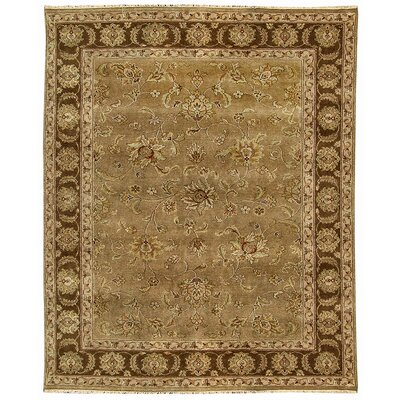Oasis Tan Loulan Area Rug Rug Size: Runner 26 x 10