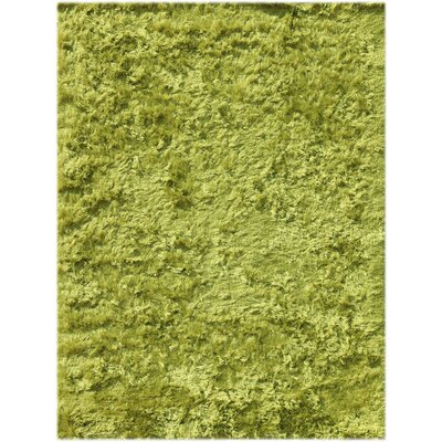 Elements Neon Lime Green Area Rug Rug Size: 3 x 5