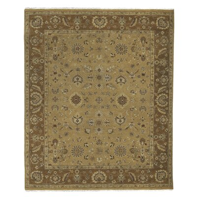 Grant Gold, Hand-Knotted Rug Rug Size: 9' x 12'