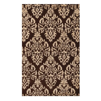 Brightwood Chocolate Area Rug Rug Size: 76 x 96