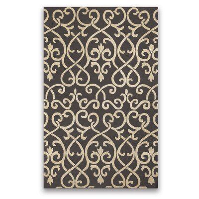 Brightwood Dove Gray Area Rug Rug Size: 2 x 3