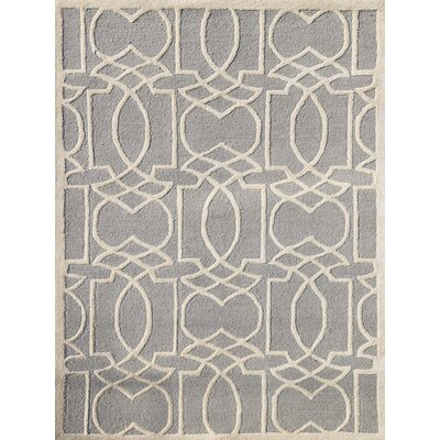 Omeara Platinum Area Rug Rug Size: 8 x 11