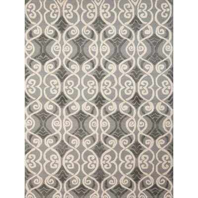 Collins Hand-Tufted Gray Area Rug Rug Size: 5 x 8