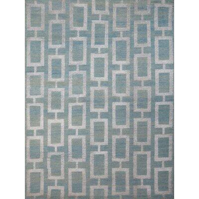 Kimaya Steel Blue Area Rug Rug Size: 2 x 3