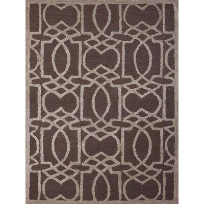 Omeara Charcoal Area Rug Rug Size: 5 x 8