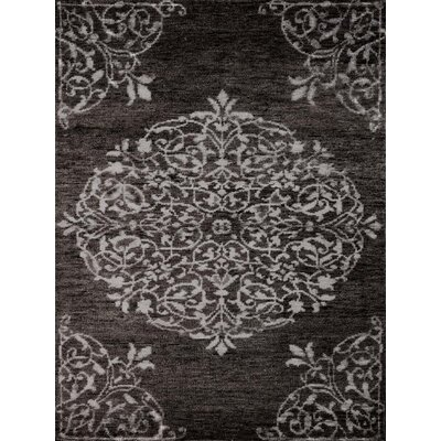 Gunner Charcoal Area Rug Rug Size: 2 x 3