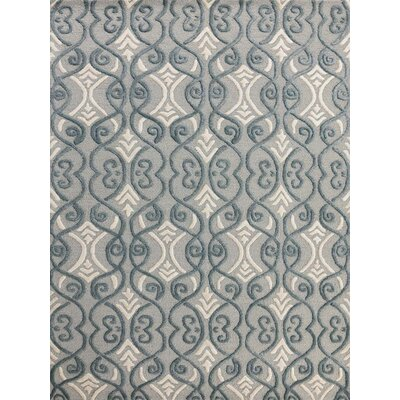Glow Graphite Area Rug Rug Size: 8 x 11