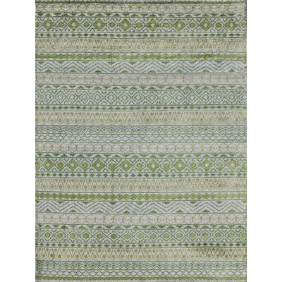 Feza Apple Green Area Rug Rug Size: 4 x 6