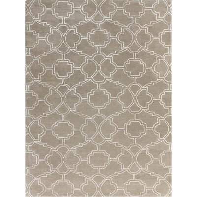 City Hand-Tufted Sand Area Rug Rug Size: 5 x 8