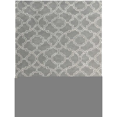City Hand-Tufted Sea Blue Area Rug Rug Size: 5 x 8