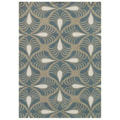 Weese Hand-Tufted Sage Area Rug Rug Size: Rectangle 5 x 8