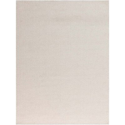 Lynnfield Hand-Tufted Ivory Area Rug Rug Size: Rectangle 5 x 8