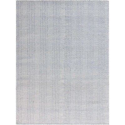 Lynnfield Hand-Tufted Blue Area Rug Rug Size: Rectangle 5 x 8