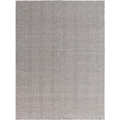 Bella Hand-Tufted Chocolate Area Rug Rug Size: 4 x 6
