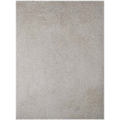 Illustrations White Area Rug Rug Size: 8 x 11