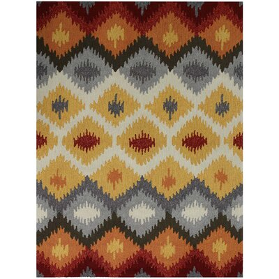Piazza Yellow Indoor/Outdoor Area Rug Rug Size: 76 x 96