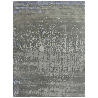 Synergy Hand-Tufted Dove Gray Area Rug Rug Size: 9 x 12
