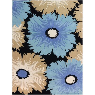 Bombay Hand-Tufted Multicolored Area Rug Rug Size: 2 x 3