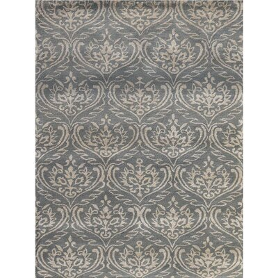 Ismenia Hand-Tufted Gray Area Rug Rug Size: Rectangle 76 x 96