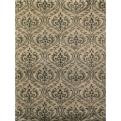 Ismenia Hand-Tufted Sandstone Area Rug Rug Size: Rectangle 76 x 96