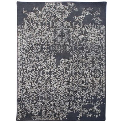 Pigg Hand-Tufted Gray Area Rug Rug Size: Rectangle 76 x 96