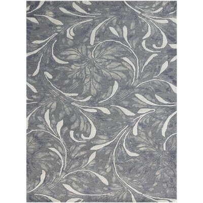 Pavilion Modern Hand-Tufted Gray Area Rug Rug Size: Rectangle 5 x 8