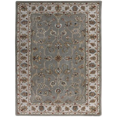 Eternity Hand-Tufted Gray Area Rug Rug Size: 76 x 96