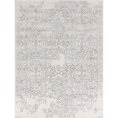 Pigg Hand-Tufted Iron Area Rug Rug Size: Rectangle 5 x 8