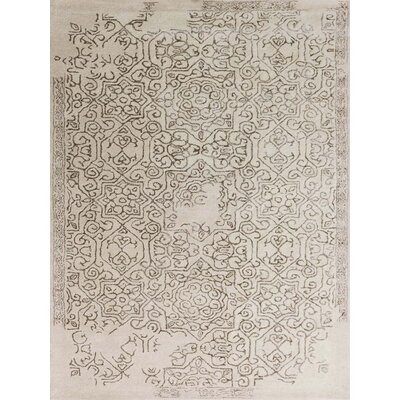 Pigg Hand-Tufted Sand Area Rug Rug Size: Rectangle 8 x 11