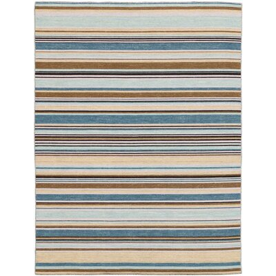Cavanaugh Flat-Weave Pastel Yellow Area Rug Rug Size: Rectangle 4 x 6
