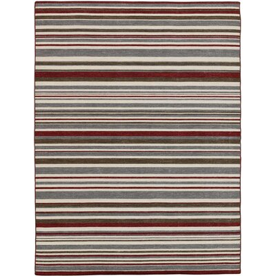 Cavanaugh Modern & Contemporary Flat-Weave Multicolored Area Rug Rug Size: Rectangle 5 x 8