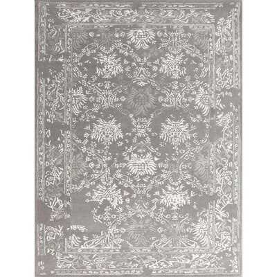 Hadassah Hand-Tufted Gray Area Rug Rug Size: Rectangle 8 x 11